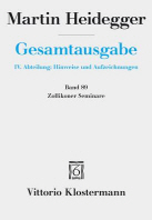 Martin Heidegger, Zollikoner Seminare