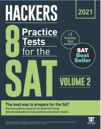 Hackers 8 Practice Tests for the SAT Volume. 2(2021)
