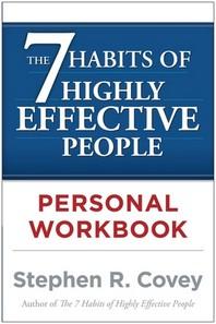 [해외]The 7 Habits of Highly Effective People Personal Workbook