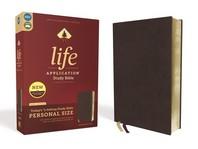 [해외]Niv, Life Application Study Bible, Third Edition, Personal Size, Bonded Leather, Burgundy, Red Letter Edition (Bonded Leather)