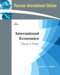 International Economics 8/E: Theory and Policy