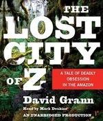 [해외]The Lost City of Z (Compact Disk)