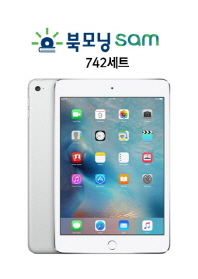 iPad mini4 Wi-Fi 16GB Silver + 북모닝sam 742편