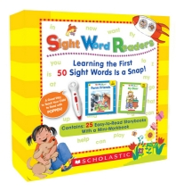 Sight Word Readers Boxed Set (Book & CD) (팝펜에디션(팝펜미포함)) *** 팝펜 미포함