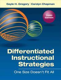 [해외]Differentiated Instructional Strategies
