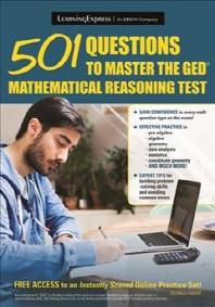 [해외]501 Questions to Master the GED Mathematical Reasoning Test