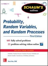 [해외]Schaum's Outline of Probability, Random Variables, and Random Processes