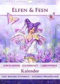 [해외]Elfen & Feen - Kalender (Wandkalender 2022 DIN A4 hoch)