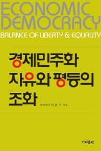 경제민주화 자유와 평등의 조화(양장본 HardCover)