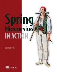 [해외]Spring Microservices in Action (Paperback)