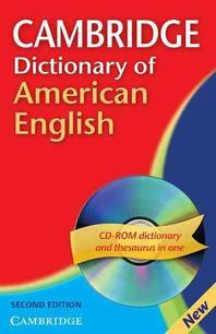 Cambridge Dictionary of American English Camb Dict American Eng with CD 2ed [With CDROM]