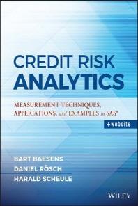 [해외]Credit Risk Analytics