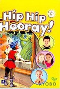 Hip Hip Hooray 3(Cassette Tape 2개) activity book tape 도 같이 보내드림
