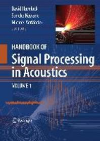 [해외]Handbook of Signal Processing in Acoustics, 2-Volume Set
