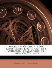 [해외]Allgemeine Geschichte Der Christlichen Kirche Nach Der Zeitfolge (Paperback)