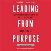 [해외]Leading from Purpose (Compact Disk)