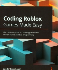 Coding Roblox Games Made Easy(Paperback)