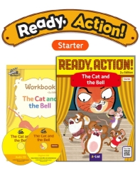 Pack-Ready Action 2E (Starter): The Cat and the Bell[SB+WB+CD](CD2장포함)(전2권)
