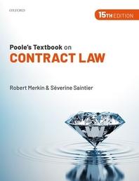 [해외]Poole's Textbook on Contract Law