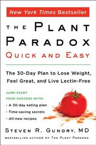 [해외]The Plant Paradox Quick and Easy