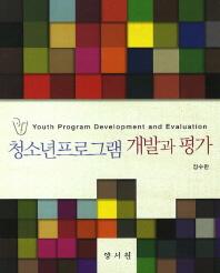 청소년프로그램 개발과 평가