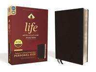 [해외]Niv, Life Application Study Bible, Third Edition, Personal Size, Bonded Leather, Black, Red Letter Edition (Bonded Leather)