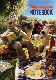[해외]Wallace and Gromit Stencil Notebook