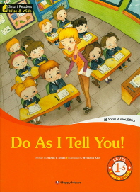 Do As I Tell  You! Level. 1-5(CD1장포함)(Smart Readers Wise & Wide)