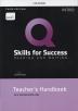 [보유]Q Skills for Success: Reading and Writing Intro Teacher's handbook (with Teacher Access Card)