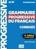 [보유]Grammaire progressive du francais - Niveau intermediaire - Corriges - 4eme dition