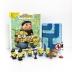 [보유]Minions 2 My Busy Book 미니언즈 2 비지북 (미니피규어 10개 + 놀이판)