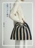 [해외]洗える麻絲で編む上質バッグと帽子