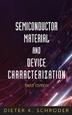 [보유]Semiconductor Material and Device Characterization