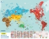 도시탐험대: 세계지도 브로마이드