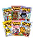 Go Go 카카오프렌즈 6권 세트(미국, 일본, 영국, 프랑스, 중국, 이탈리아)