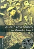 ALICES ADVENTURES IN WONDERLAND : Oxford Bookworms Stage 2(Audio CD Pack)