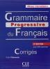 [보유]Grammaire Progressive Du Francais - Nouvelle Edition - Corriges