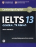 [보유]Cambridge Ielts 13 General Training Student's Book with Answers with Audio (오디오포함)