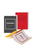 The Little Book of Chanel / Prada / Dior 3종 세트