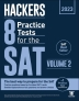 Hackers 8 Practice Tests for the SAT Volume. 2(2022)