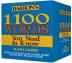 [보유]1100 Words You Need to Know Flashcards