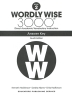 [보유]Wordly Wise 3000: Book 2 Answer Key (4/E)