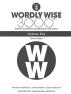 [보유]Wordly Wise 3000: Book 3 Answer Key (4/E)