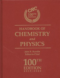 [보유]CRC Handbook of Chemistry and Physics, 100th Edition