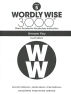 [보유]Wordly Wise 3000: Book 5 Answer Key (4/E)
