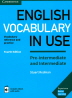 [보유]English Vocabulary in Use: Pre-Intermediate and Intermediate with eBook