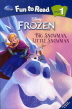 Frozen: Big Snowman Little Snowman(�ܿ�ձ�)(Disney)(CD1������)(Fun to Read Level 1)