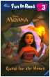 Moana: Quest for the Heart 세트(CD1장포함)(Disney Fun To Read 3-22)