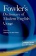 [보유]Fowler's Dictionary of Modern English Usage