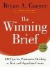 [보유]The Winning Brief